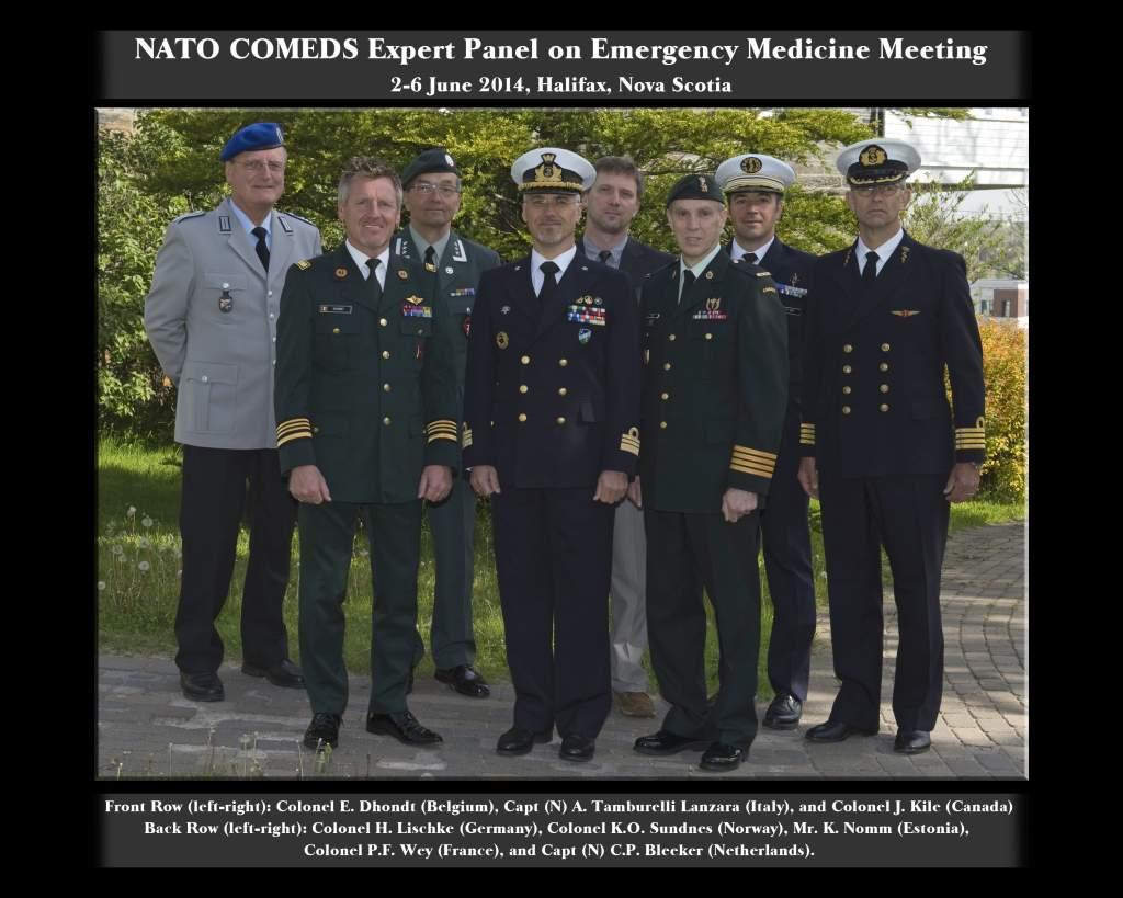 NATO 6 2 organizational royal canadian medical service