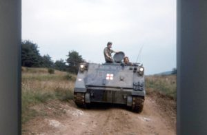 4 Field Ambulance M113 Ambulance, Germany circa 1985