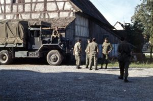 4 Field Ambulance deployed in German village circa 1985