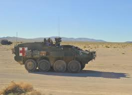 Canadian Light Armoured Vehicle (LAV) Ambulance in Afghanistan