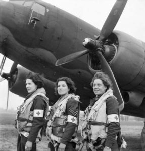 Areomedevac team prepared to depart for Normandy to evacuate patients to England