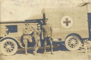 Canadian Army Medical Corps ambulance