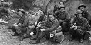 Royal Canadian Army Medical Corps Nursing Sisters WW II