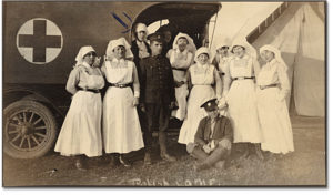 Canadian Army Medical Corps Nursing Sisters and CAMC medics