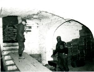 ! Field Ambulance Evacuation Station in barn basement circa 1965
