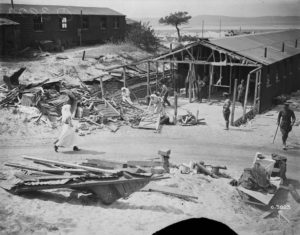 Bombed ruins No 1 Canadian General Hospital Source: Library and Archives Canada