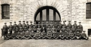 Officers and members No 5 Stationary Hospital (Queens) Reinforcements July 1913
