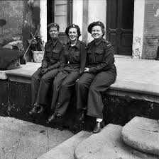 Nursing sisters of No.14 Canadian General Hospital (RCAMC) Source: TBC