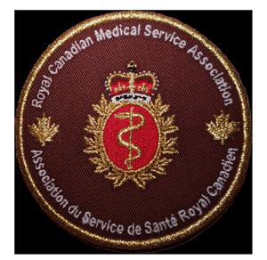 RCMSA Embroidered Crest / Écusson brodé de l'ASSRC